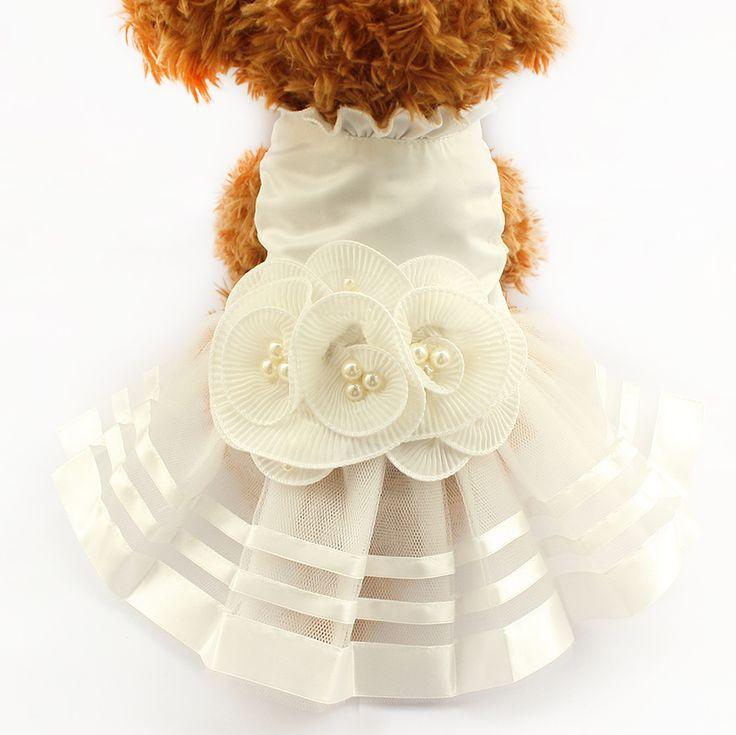 vestido fiesta perro, vestido novia perro, accesorios perros http://ebay.eu/1p77Ms1