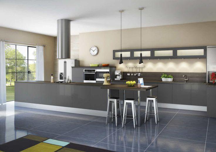 les 33 meilleures images du tableau cuisines modernes hygena sur pinterest cuisines modernes. Black Bedroom Furniture Sets. Home Design Ideas