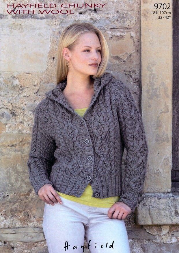 201 best Knitting - Cardigan images on Pinterest   Knit patterns ...