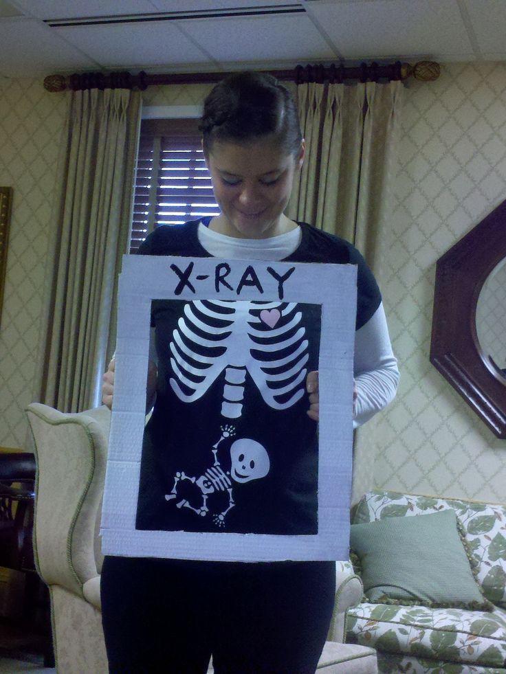 Pregnancy Reveal on Halloween!