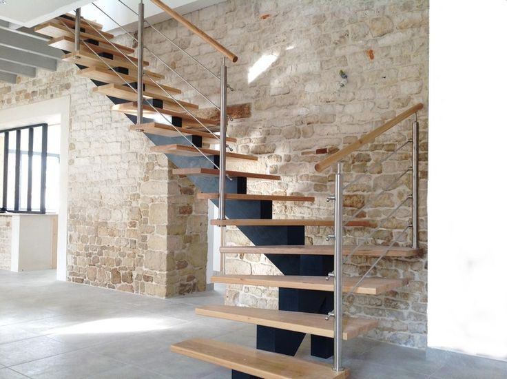 117 best Déco images on Pinterest Modern stairs, Banisters and Stairs