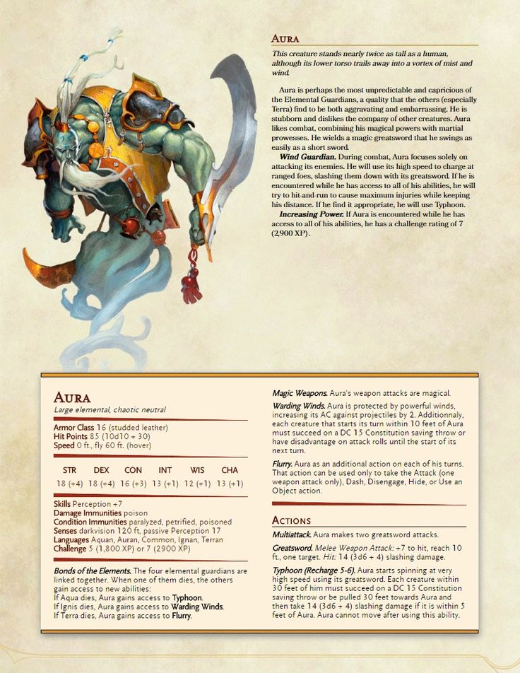 5e Monsters Lynesth S Book Of Wonderful Creatures