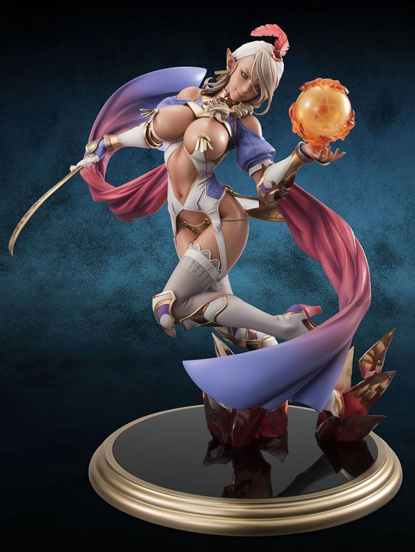 I don't see the point of these figurines, but if ever she were to  come to life, she could share my hot tub