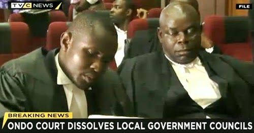 BREAKING NEWS: Ondo State High Court Sacks the 18 Local Council Chairmen in the State