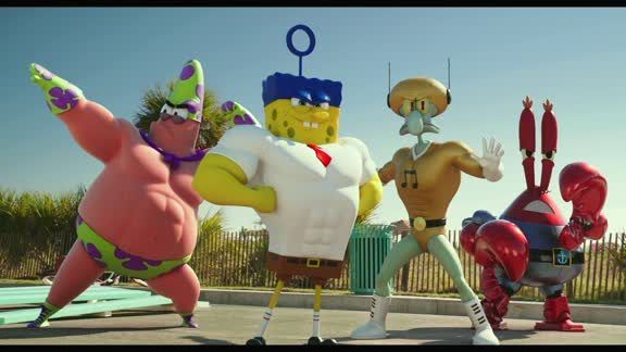 The Spongebob Movie: Sponge Out Of Water: Clip - Super Powers