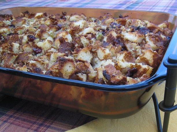 Gluten-Free Cranberry Stuffing | Recipe