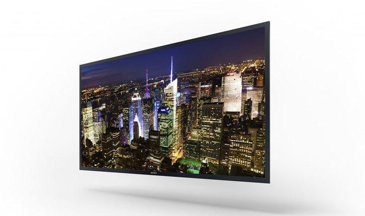 Sony first 4k OLED Quad HD TV