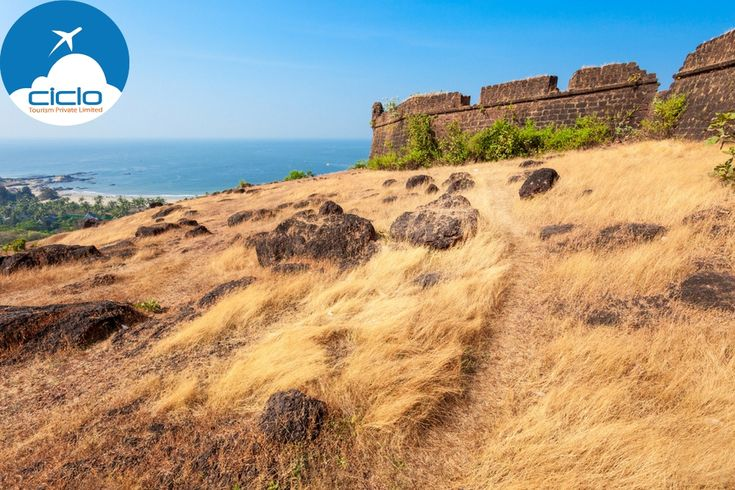 Chapora Fort is also called the 'Dil Chahta Hai' Fort, as some of the scenes in the blockbuster movie 'Dil Chahta Hai' were shot here. #Goa #CicloTourism