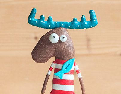 """Check out new work on my @Behance portfolio: """"Sea moose"""" http://be.net/gallery/37002763/Sea-moose"""