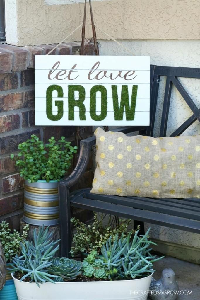 28+ Best Spring Porch Sign Decor Ideas & Designs For 2020