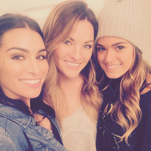 WEBSTA @ ashley_iaconetti - Little birdies told me my girls @beccatilley and @joellefletcher may play a pretty big role in tomorrow's #TheBachelor episode. I think I know The Bachelor pretty well. If you think you know it better than me, join my Bachelor pool on FansPlay and compete with me! Check out the link in my bio and search ashleyiaconetti to join my pool!