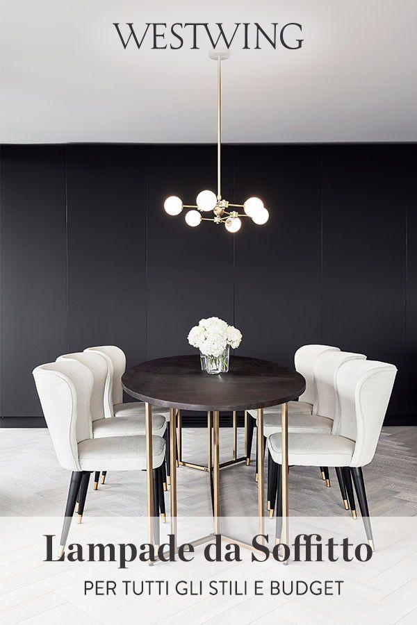 Lampada Da Soffito Scoprile Tavolo Rotondo Tavoli Da Pranzo In Marmo Idee Per Decorare La Casa