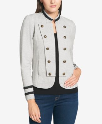 Tommy Hilfiger Embellished Knit Jacket, Created for Macy's