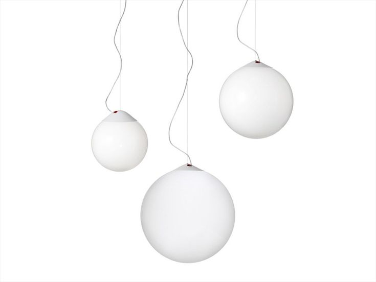 Fluorescent pendant lamp Droplight Collection by Örsjö Belysning | design Matti Klenell