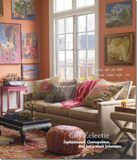 eclectic living room design serena lily