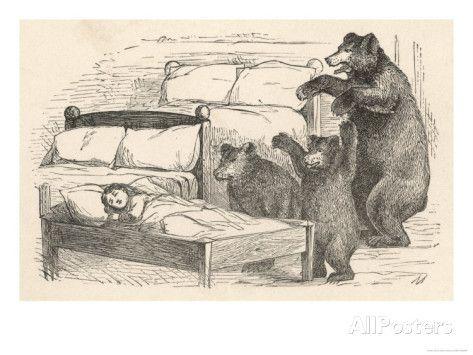 gullhår og de tre bjørnene bilder - Google-søk