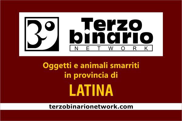 Oggetti e animali smarriti in provincia di Latina