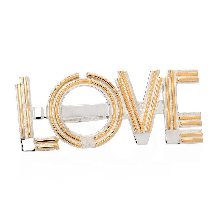 LOVE knuckleduster from Joy Everley Fine Jewellers, London