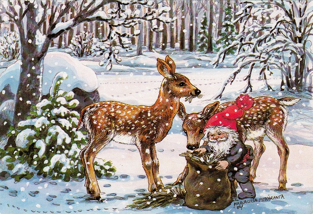 Christmas postcard (Finland) by katya