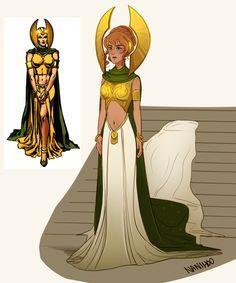 Sigyn Goddess of Fidelity and Loki's wife
