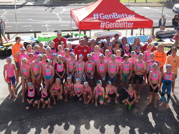 Great shot of the kids at the first ever Medibank Wave Warriors Nipper Clinic at Currumbin. Perfect day for it! #Medibank #GenBetter Medibank