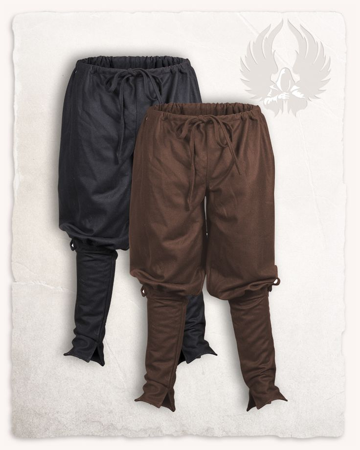 These pants were made according to the historic antetype of the Rus pants. An early viking pattern, that allows for enormous freedom of movement. The pants are laced at the waist and below the knees. The calf is cut tightly, so you can...