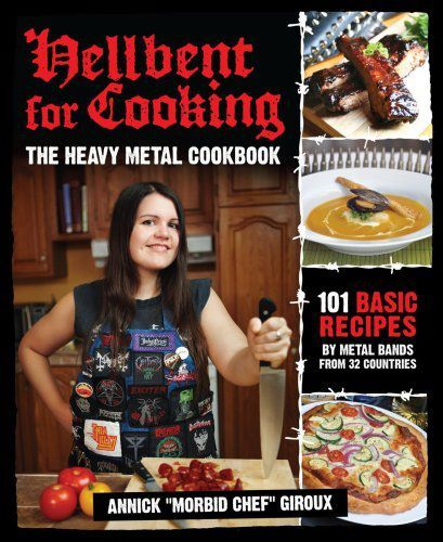 Hellbent for Cooking - The Heavy Metal Cookbook #weird #books