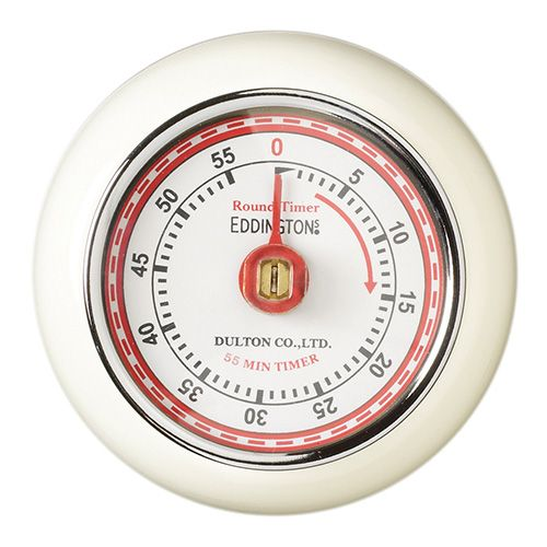 Eddingtons Magnetic Retro Timer in Ivory has a 60 minute display and it's very…