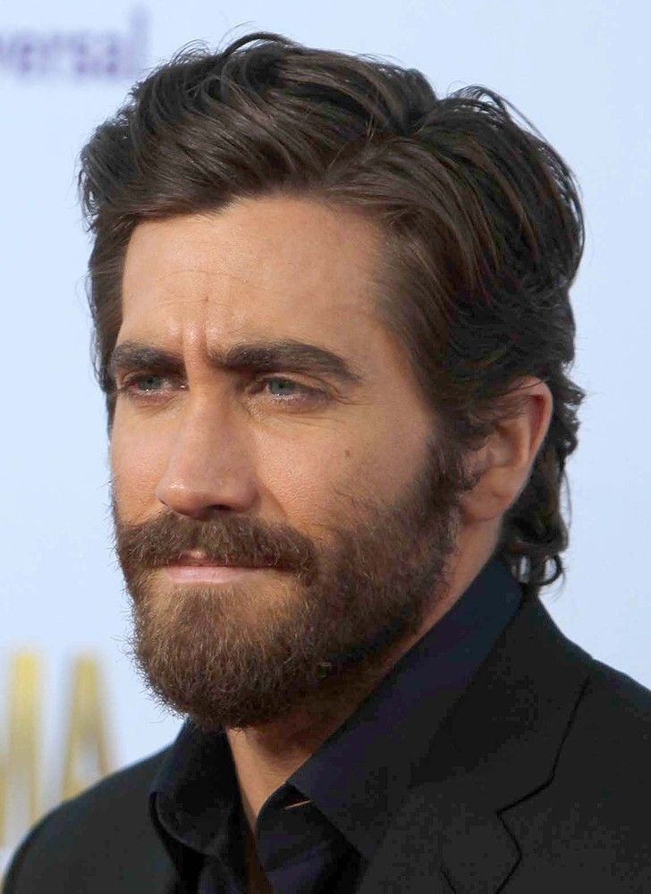 Jake Gyllenhaal. He's a little young for me, but you know what: THAT'S a proper beard. Well done young man.