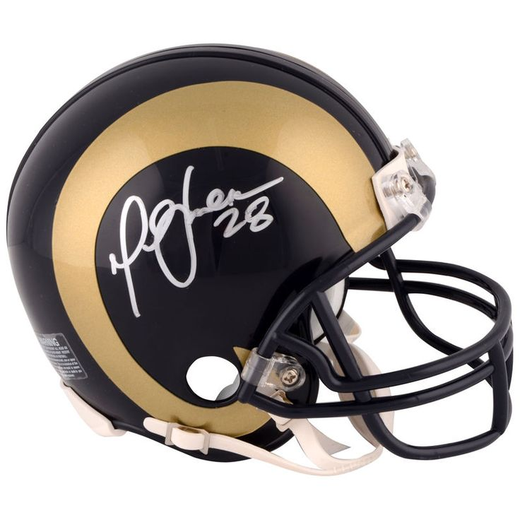 Marshall Faulk St. Louis Rams Fanatics Authentic Autographed Blue Mini Helmet