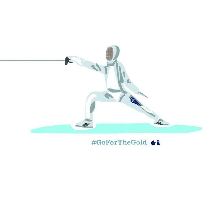 Vasiliki Vougiouka | Fencing  #TeamHellas_RIo2016 #OlympicGames2016