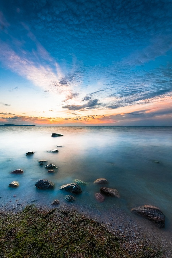 Sunset at Baltic sea - Poland