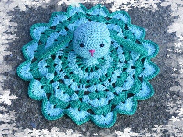 Bunny Snuggle - Crochet pattern