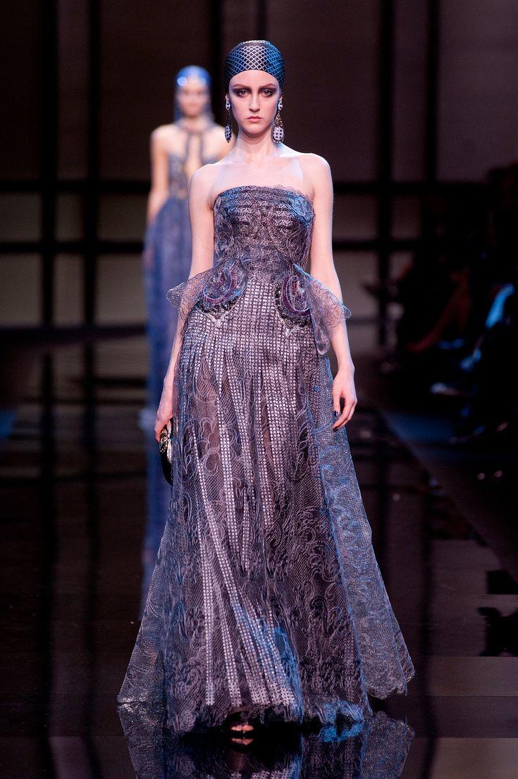 Mejores 29 imágenes de Giorgio Armani Privé Haute Couture Spring ...