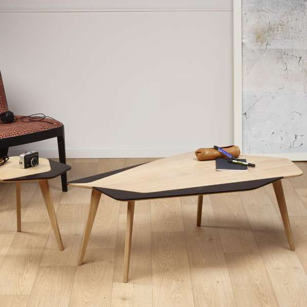 Table Basse Scandinave En Bois Massif Fabrication Francaise Flo 71 Table Basse Scandinave Table Basse Meuble