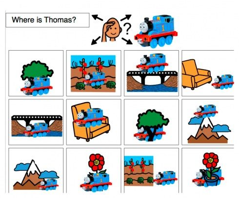 Prepositions-- Thomas, Spiderman, Dora