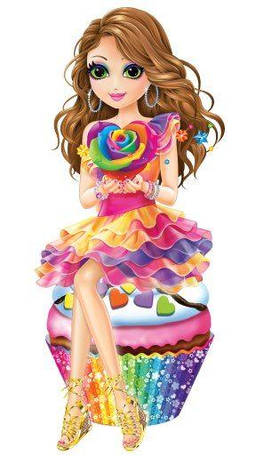 lisa frank cupcake girl lisa frank still a child on