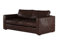 dark brown leather sofas very simialr to these