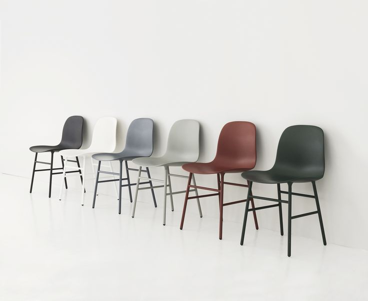 Form Chair with steel legs