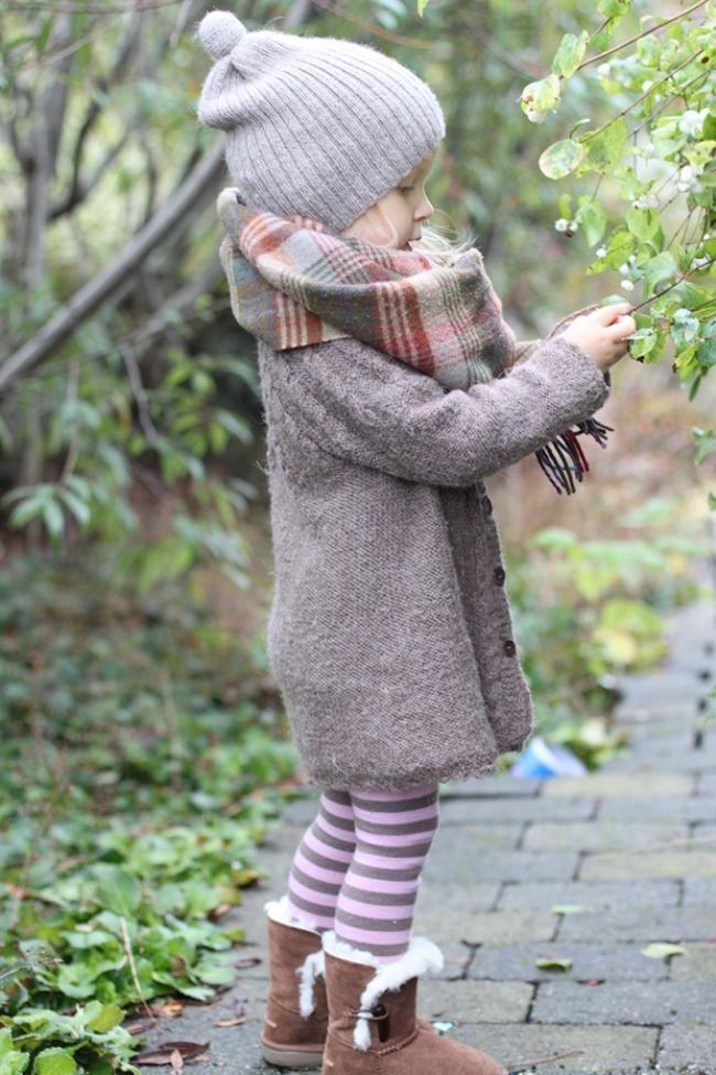 Immer stilvoll gekleidet für den Winter-Ideen für die Kinder