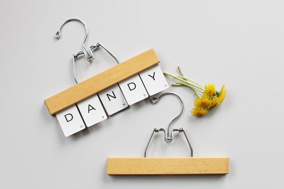Vintage Wooden pants hangers set of two by thisvintagething, $18.99