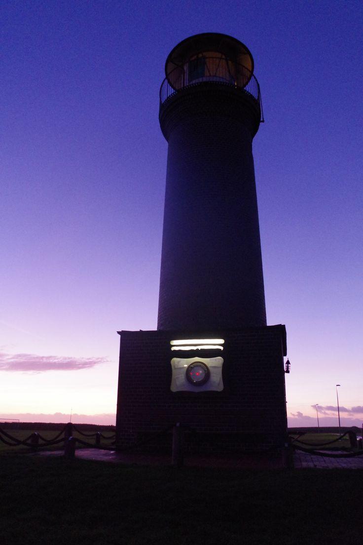 das memmertfeuer ️ der tolle leuchtturm am hafen von