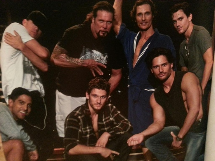 Joe Manganiello & Magic Mike Cast