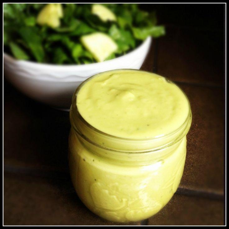 Avocado Green Goddess Dressing - The Lemon Bowl