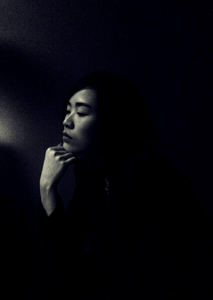 #self black & white