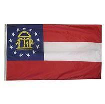 Annin - Georgia State Flag 4x6 ft. Nylon SolarGuard