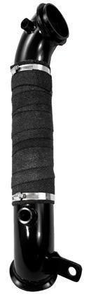 """GM8427 MBRP Black Series 3"""" Turbo Downpipe Fitment 2011-2015 Duramax 6.6L LML"""