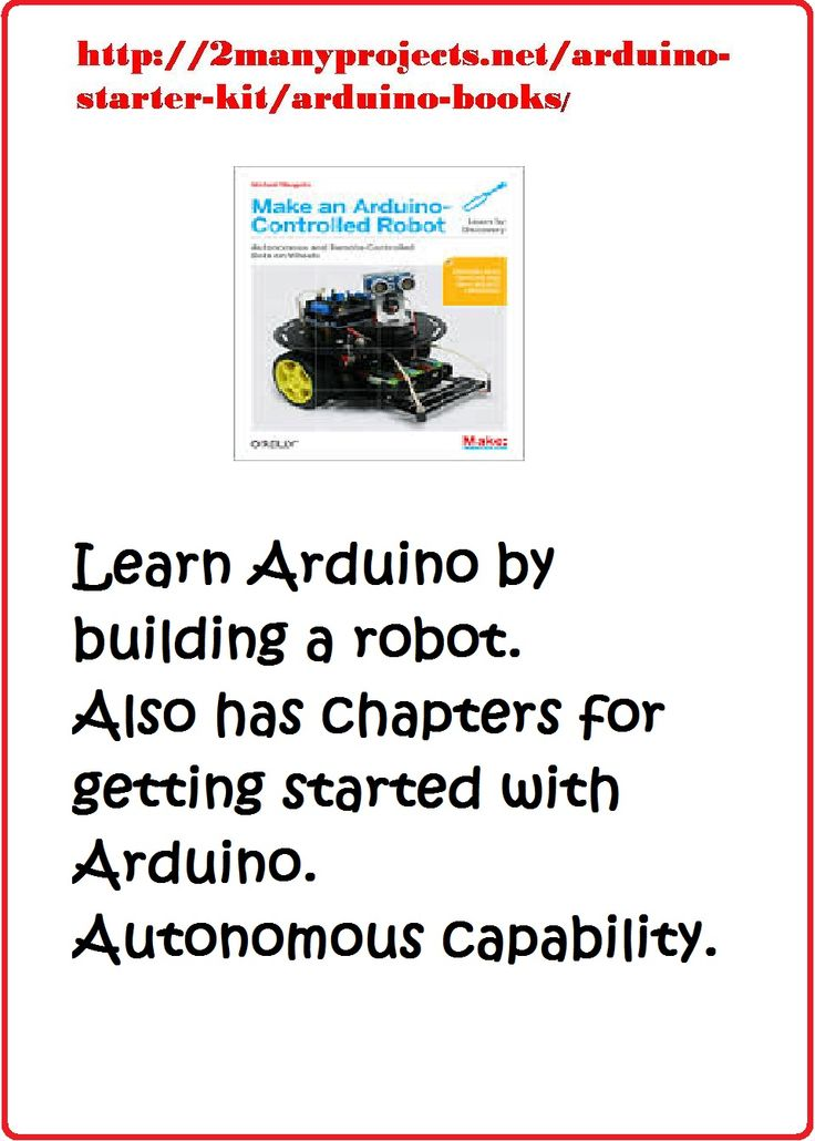 Arduino For Beginners Book - Learn The Basics & Get ...