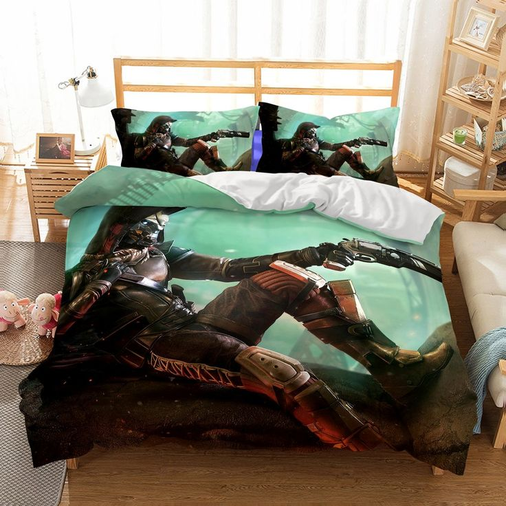 3D bedding wholesale Game DESTINY2 Printed 8