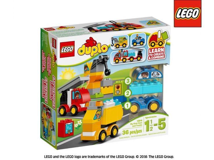 LEGO Duplo Moje Pierwsze Pojazdy-298870 - Zdjęcie 1